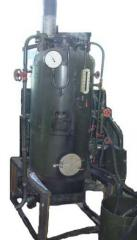 The RI-5M steam generator on firm and on diesel