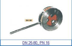Cranes disk with flange accession of DN 25-80, PN