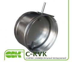 Univerzální vzduchový ventil pro ventilaci C-KVK