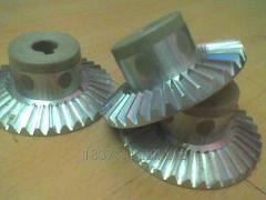 Gear wheel conic for the Mriya food processor