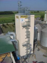 Шахтные зерносушилки зерна - Германия