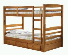 Кровать двухярусная Классика из натурального...