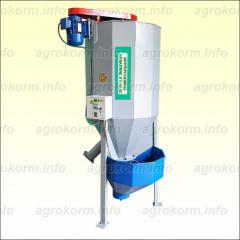 Mixer of forages