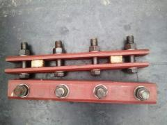 Накладка стыковая кранового рельса КР70, КР80, КР100