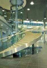 Лифт панорамный с прозрачными кабинами