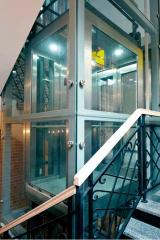 The elevator is kitchen