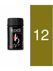 Gel color 12 Green Tea of 4 ml (Kodi)