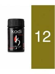 Gel color 12 Green Tea of 4 ml (Kodi)