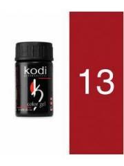 Gel color 13 Red of 4 ml (Kodi)