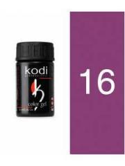 Gel color 16 Lilac of 4 ml (Kodi)