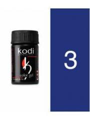 Gel color 03 Blue of 4 ml (Kodi)