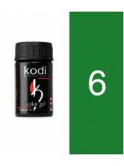 Gel color 06 Green of 4 ml (Kodi)