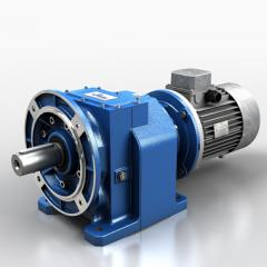 Cylindrical coaxial the series N motor reducers,