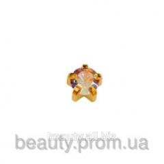 М 115 Y Мини горный хрусталь крапан золото (размер