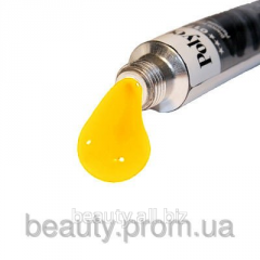 Paint acrylic Policolor No. 074 of yellow bright