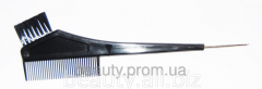 Brush for pokr. with a crest and a hook black