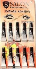 SALON Glue for eyelashes black 1 gram