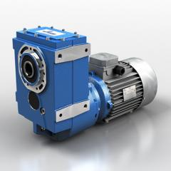 Cylindrical series S motor reducers