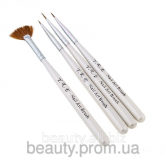 Set of brushes YRE Nail Art V-4