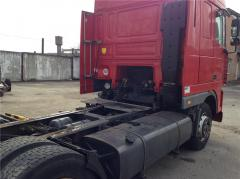 The chassis with DAF cabin