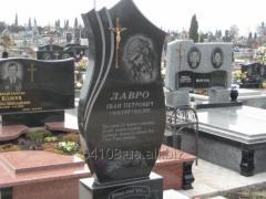Памятники надгробные из гранита