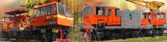 Кран железнодорожный дизель-электрический...