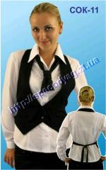 Suits for waiters and bartenders the COK-11 Model