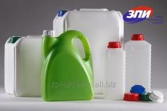 Packing plastic, canisters, bottles, bottles