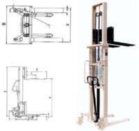 Piler manual hydraulic EFS 10-30