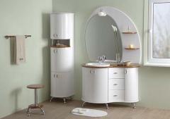 Мебель для ванной гнутой серии  EG-3