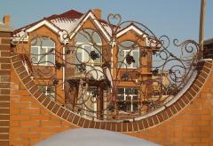 Wrought-iron fences Nikolaev, Odessa, Kherson,