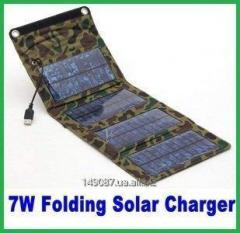 Зарядное устройство от солнечной энергии 7 Вт