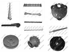 Spare parts to agricultural machinery