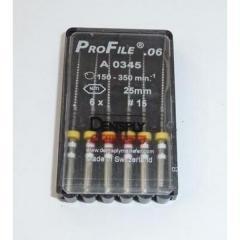 ProFile®.06, nickel - titanium files 25mm,