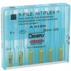 NITIFLEX® 25mm, Dentsply Maillefer K-files, 6