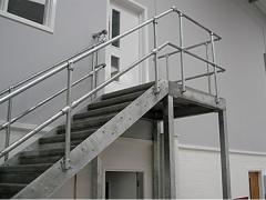 Лестницы, перила, поручни, мостики, трапы