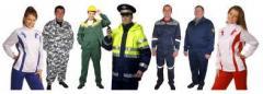Clothes professional and uniform