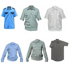 Shirts are uniform