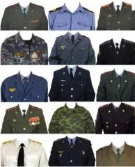 The uniform is army