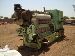 Ship WARTSILA 6L20 diesel generators