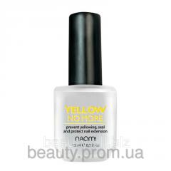 Отбеливающий лак Yellow no more 15 мл NAOMI