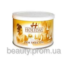 Holiday wax of bank with oil of a tea tree