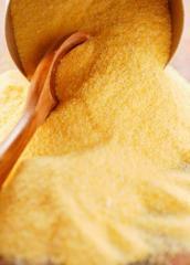 Extrusive corn flour (extruded)
