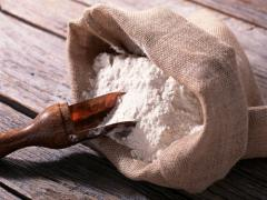 Flour extrusive (extruded) for baby and dietary