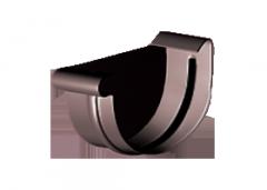 Заглушка левая 150/110 мм Gamrat, цвет графит