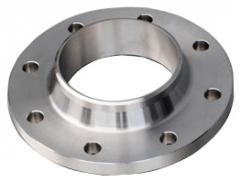 Flange steel vorotnikovy PN16 DN 100 state