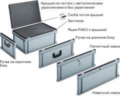 Чемоданы и запираемые ящики,Ящики Pako с крышкой