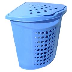 Corner laundry basket of 45 liters