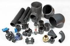 Raw materials for production of plastic pipes and