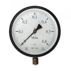 MT-160 manometer (MTs-Bagoriya) of M20x1,5 0,6